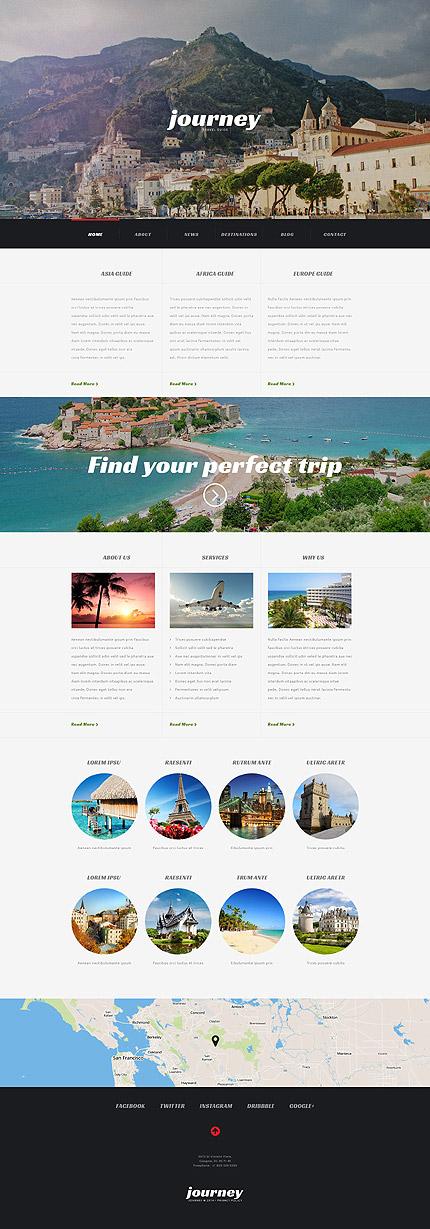Travel Agency Responsive WordPress Theme