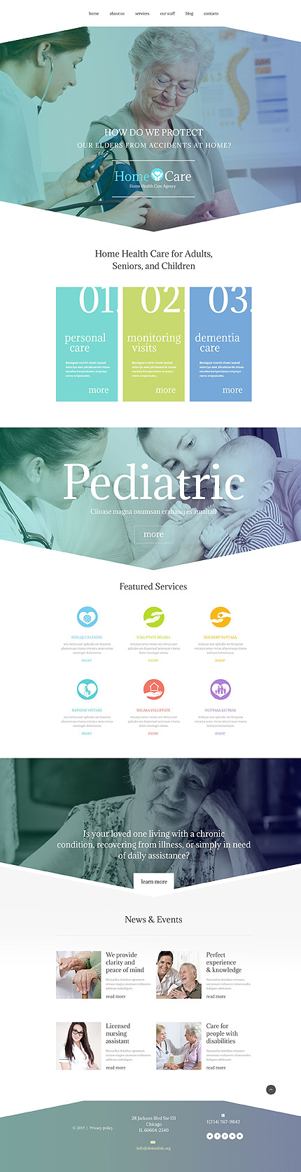 Nursing Home WordPress Theme