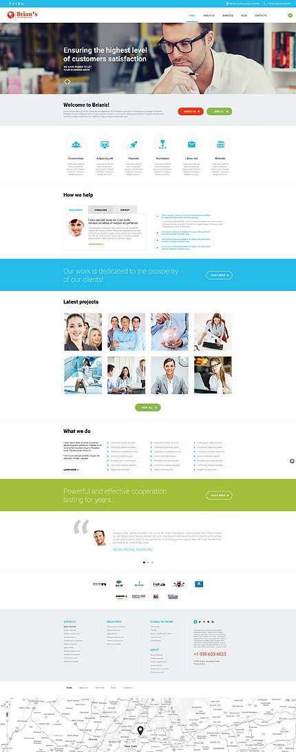 Consulting WordPress Theme