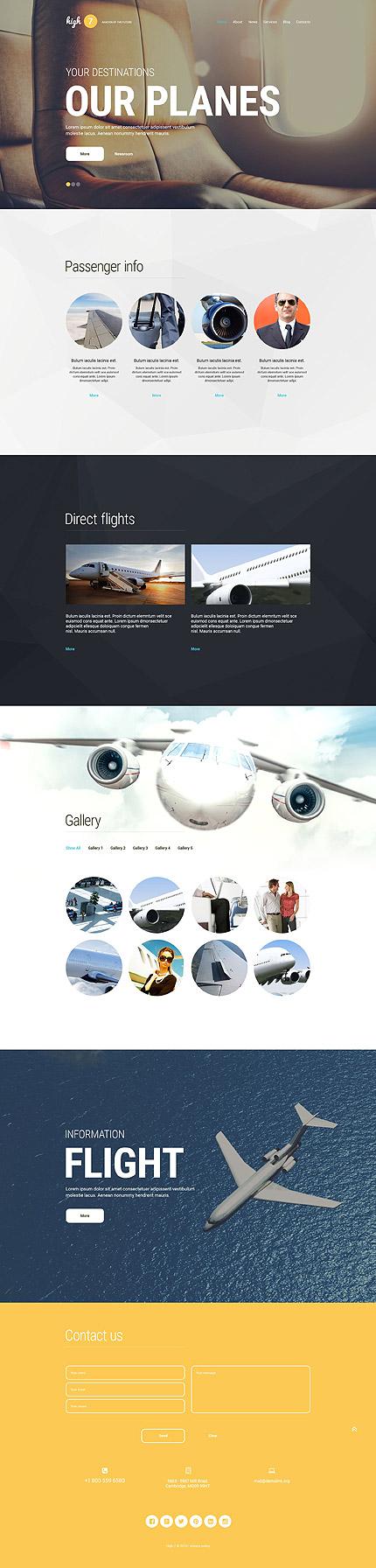 Transportation WordPress Theme
