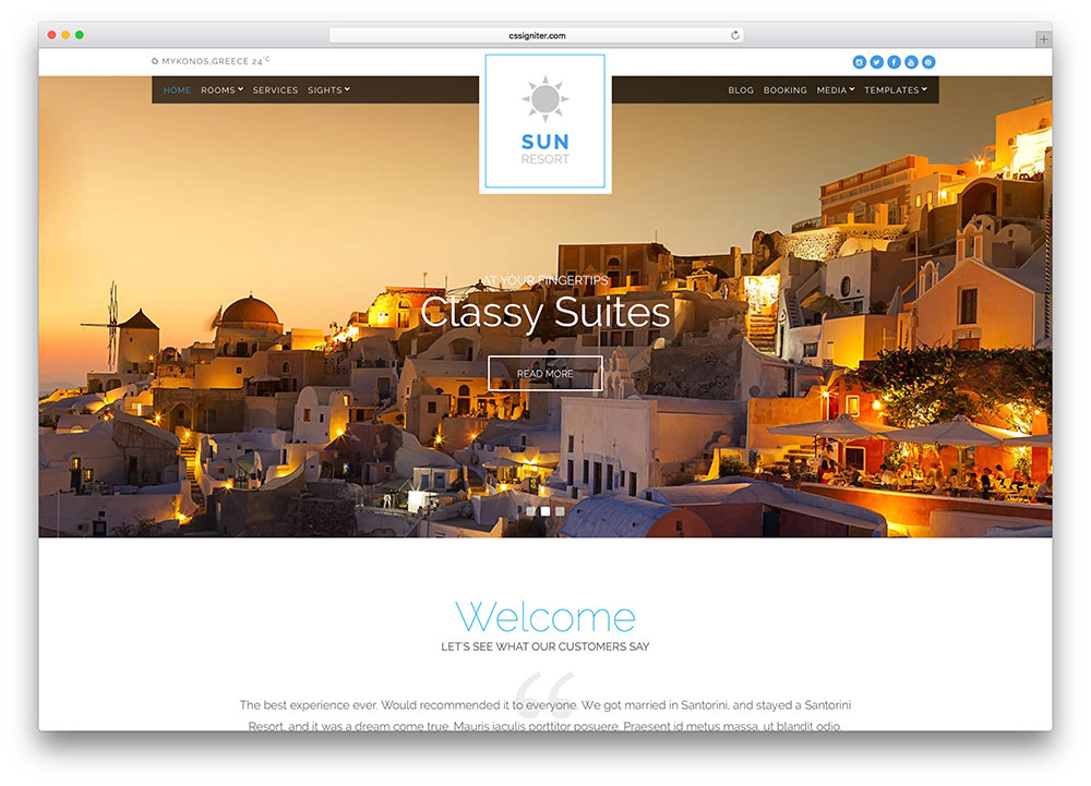 sun-resort-booking-theme