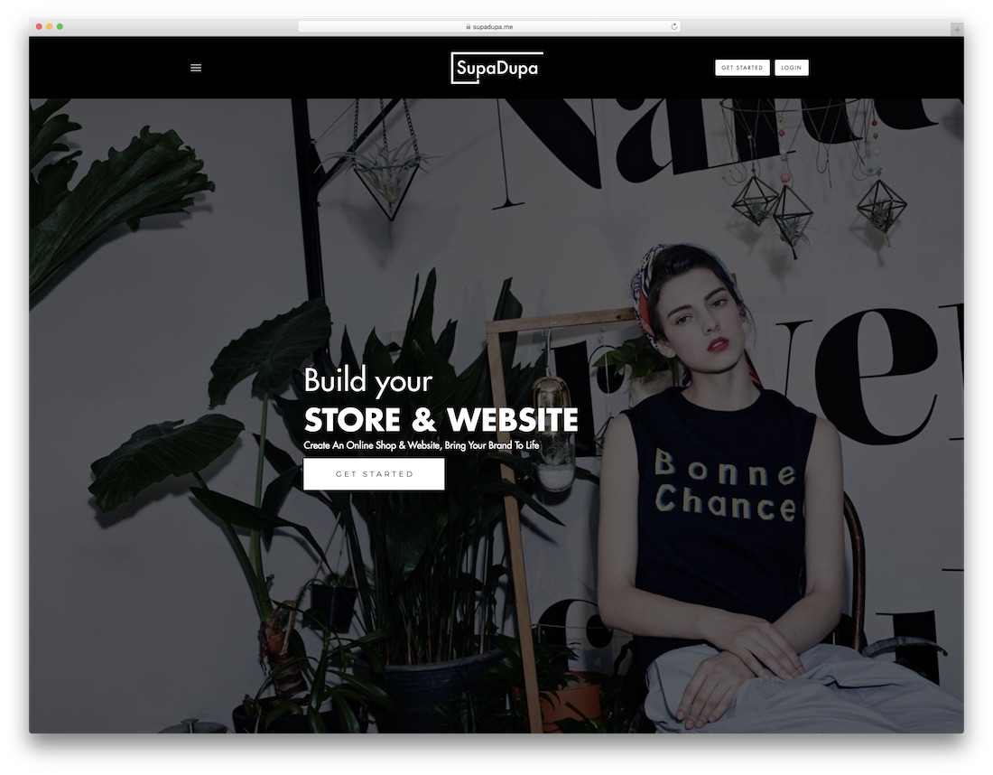 supadupa clothing website builder