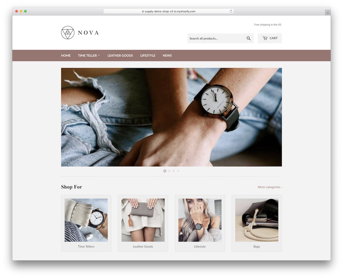 supply shopify jewelry theme
