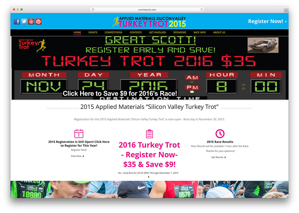 svturkeytrot-event-management-site-with-jupiter-theme