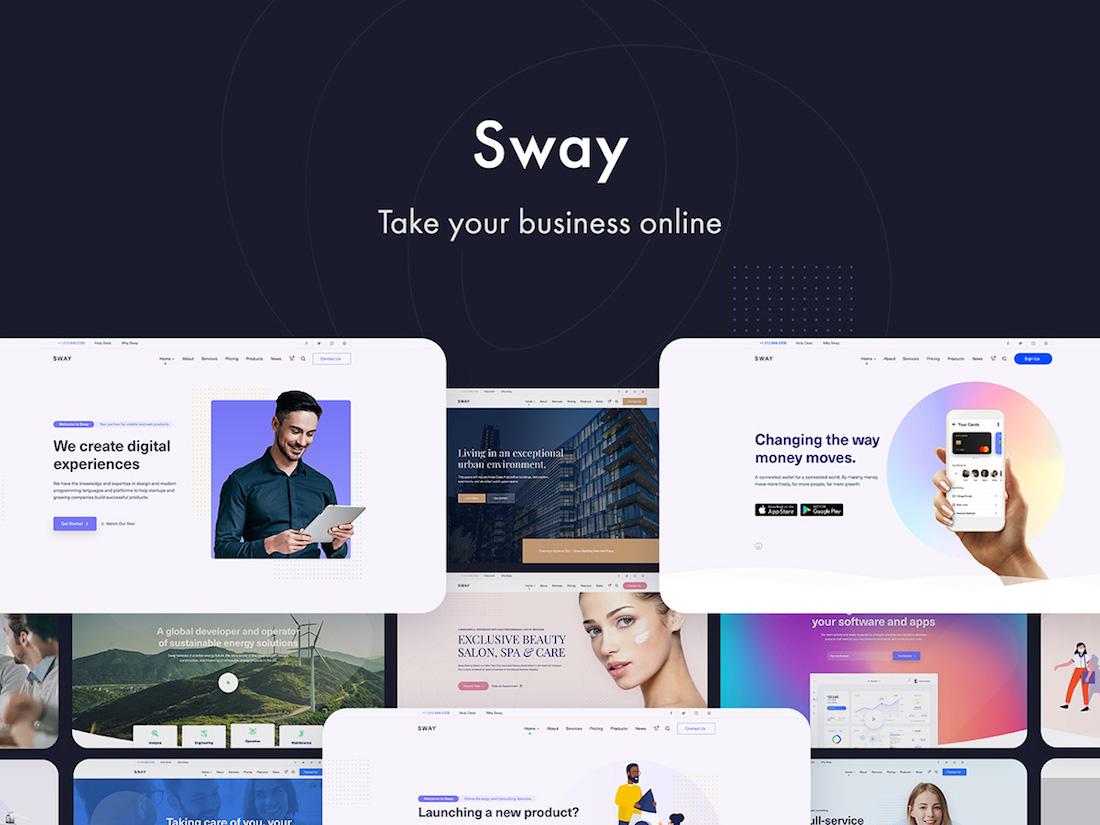 sway wordpress theme