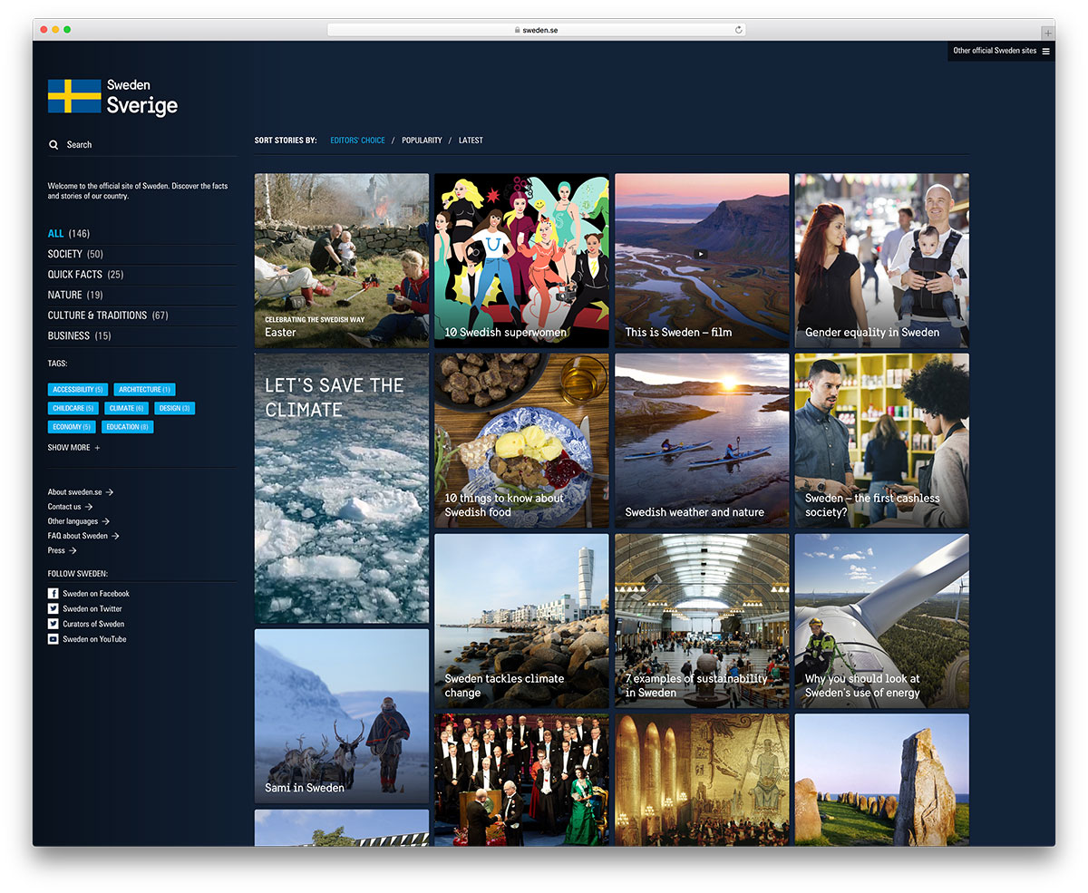 sweden-national-travel-website-using-wordpress