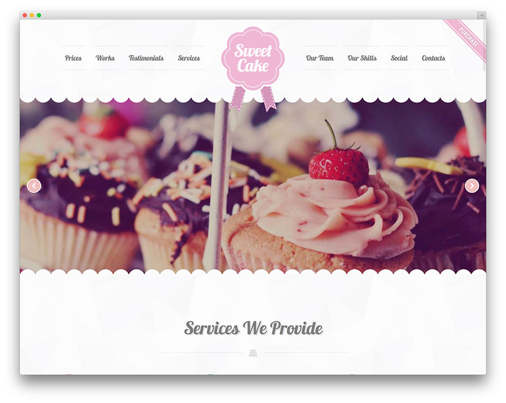 Template Wordpress Cake Design : 20+ Best WordPress Themes for Bakeries & Coffee Shops 2017 ...