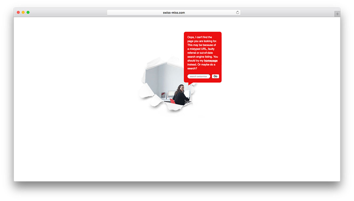 swiss-miss-simple-404-error-page-example