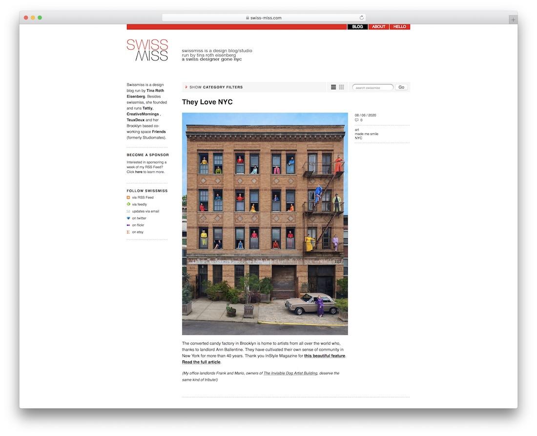 swissmiss startup business newsletter