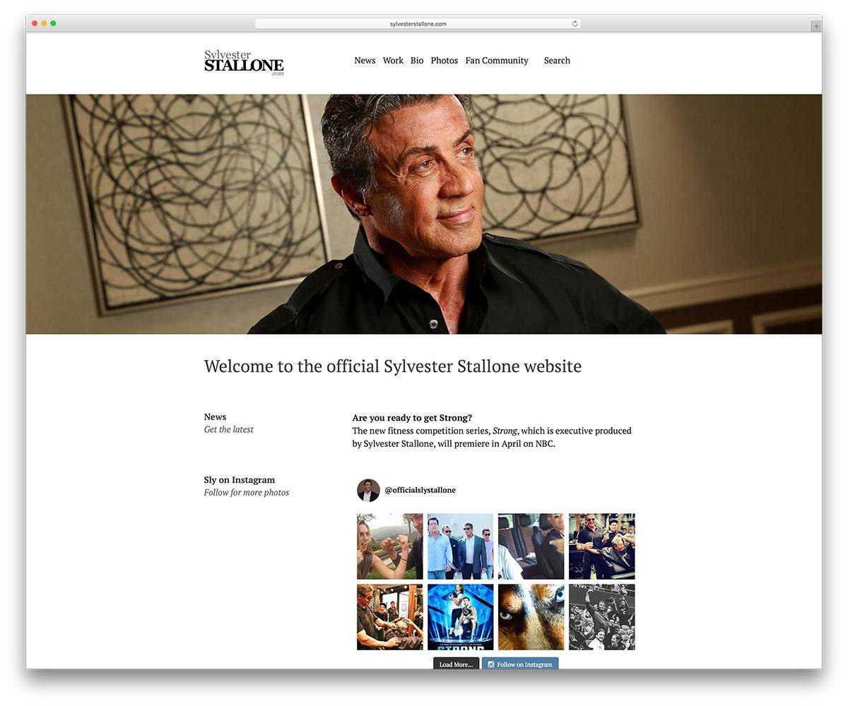 sylvesterstallone-cator-website-using-wordpress