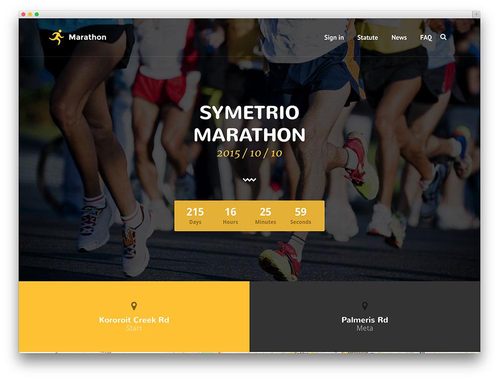symetrio - sport event theme