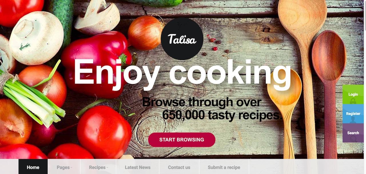 talisa-food-recipes-wordpress-theme-CL