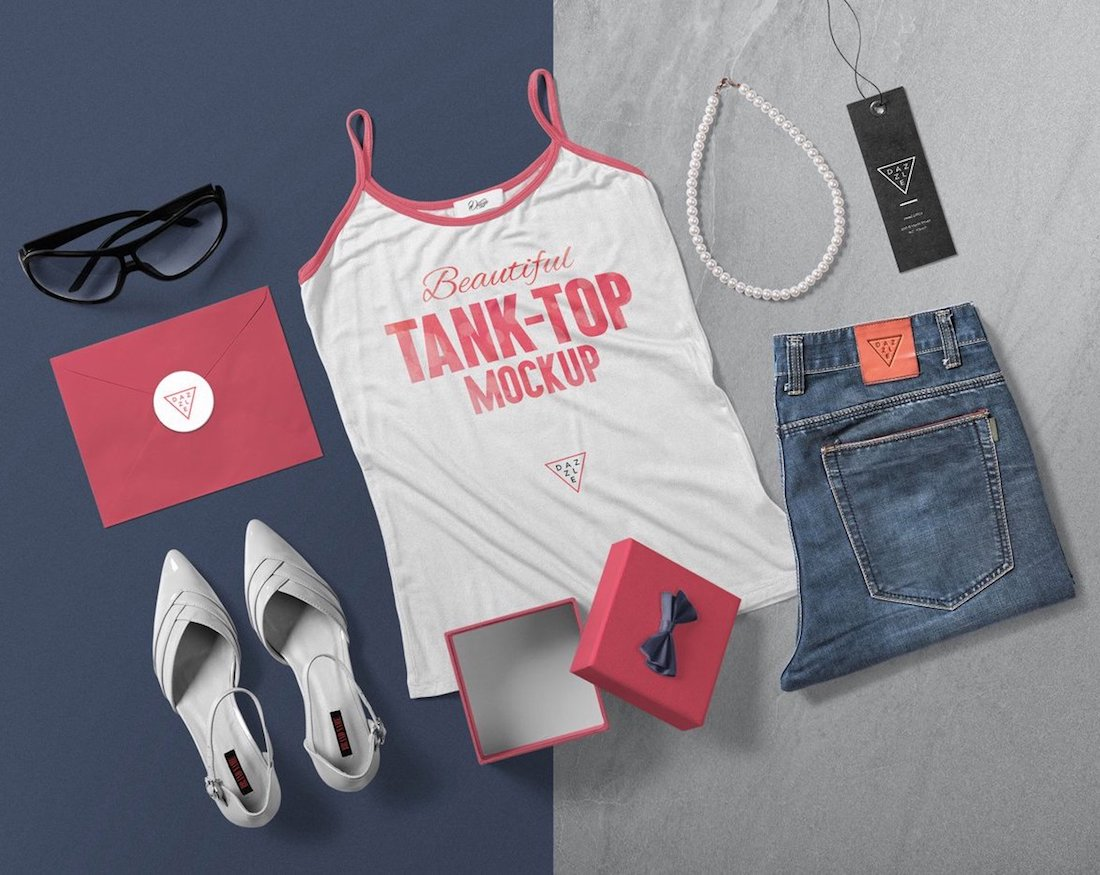 24 Best Tank Top Mockup Templates 2019
