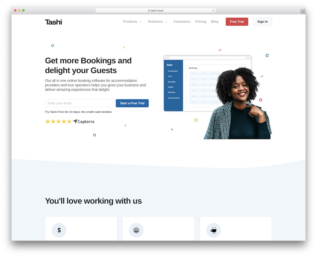 tashi hotel online booking software