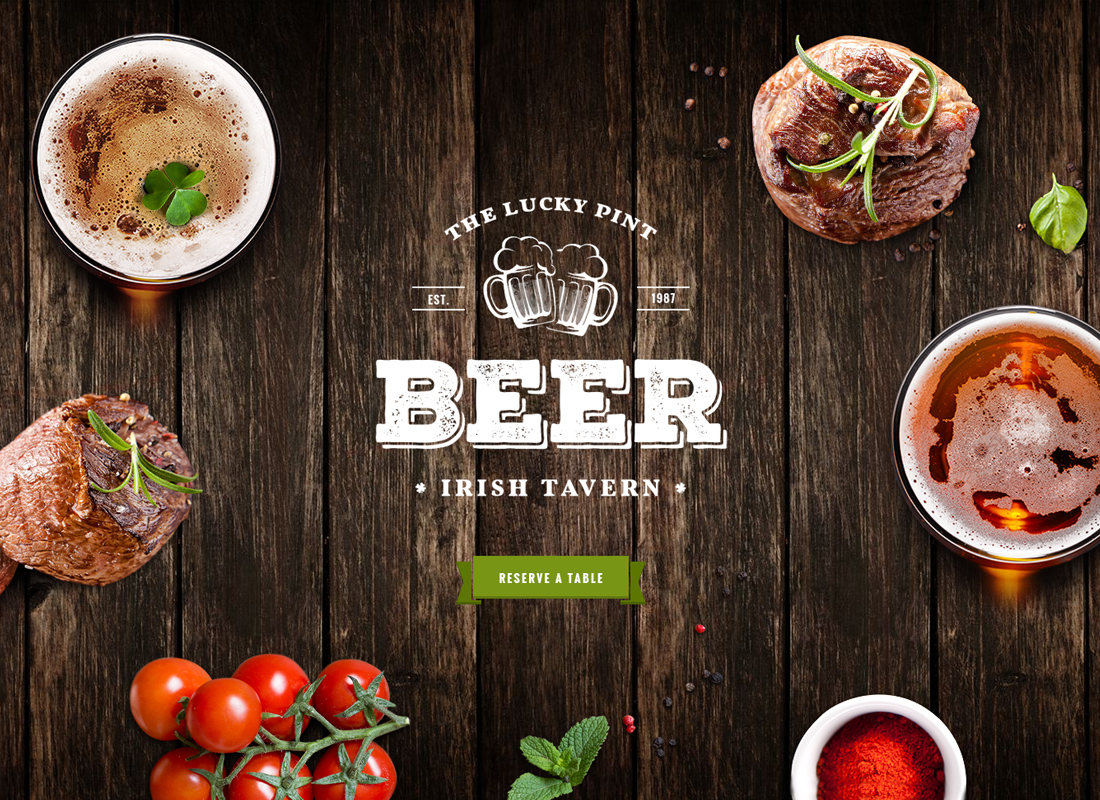 Tavern   Pub, Restaurant & Brewery WordPress Theme