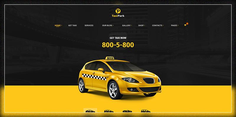 TaxiPark - Taxi Service Company WordPress Theme