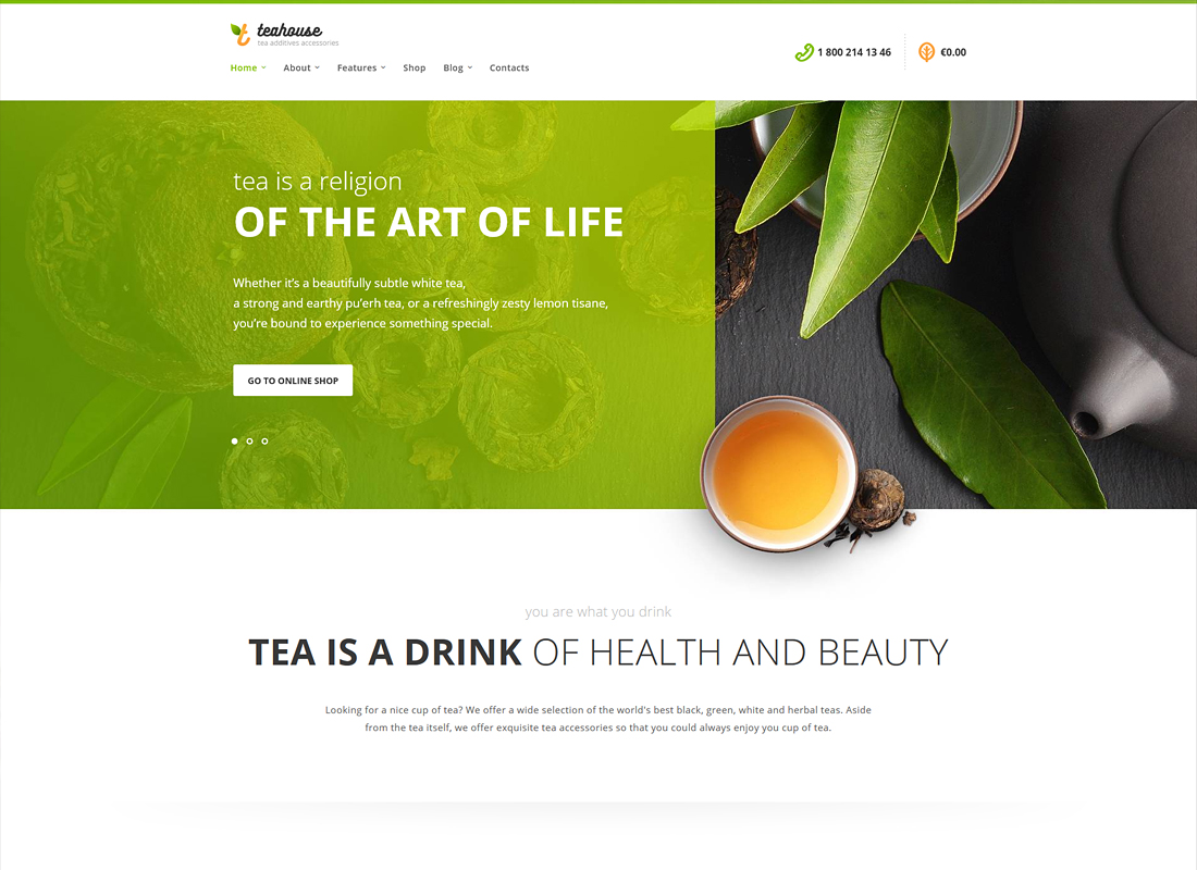 10 Best Tea House and Coffee Shop WordPress Themes - Colorlib
