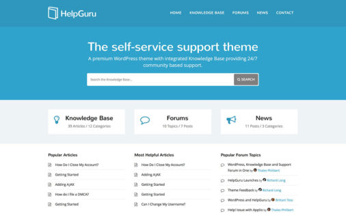 12 Innovative Wordpress Tech Support Themes 2015