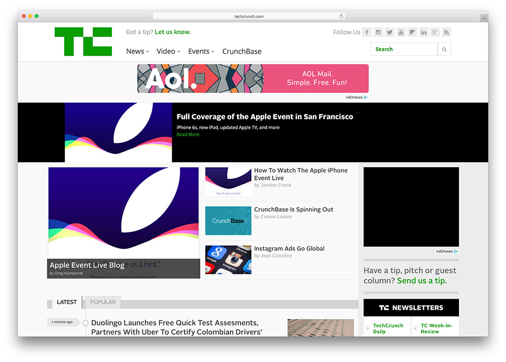 techcrunch-tech-news-wordpress-blog