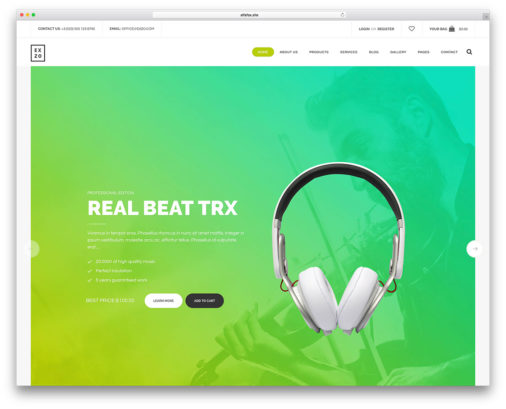 Technology Ecommerce Wordpress Themes