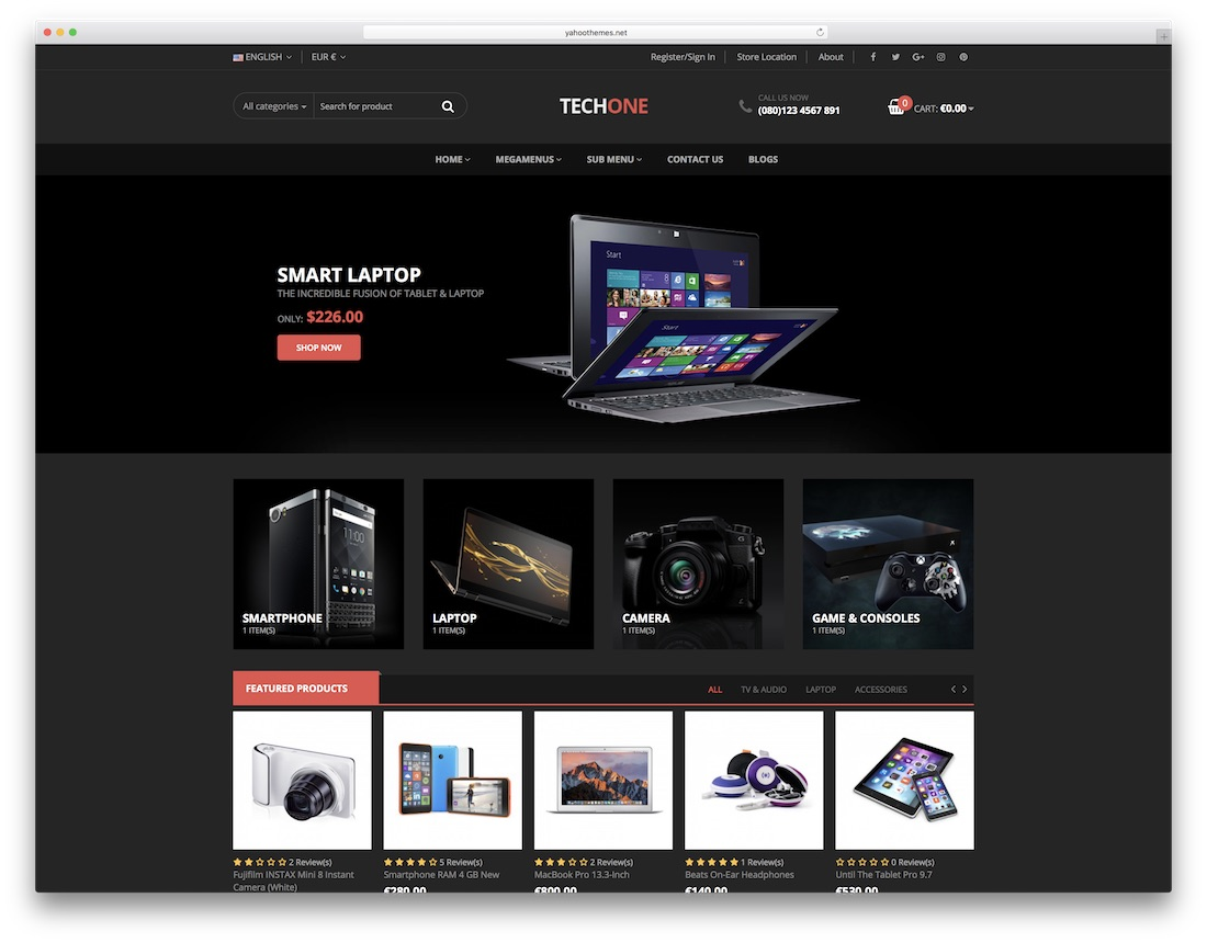 techone prestashop theme