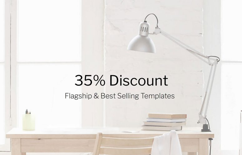 20 Flagship & Best Selling Templates At 35% Discount