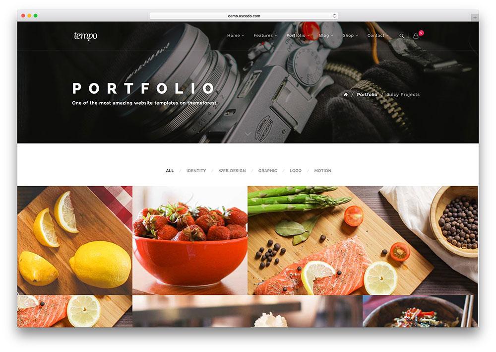 tempo-fullscreen-html5-portfolio-site-template