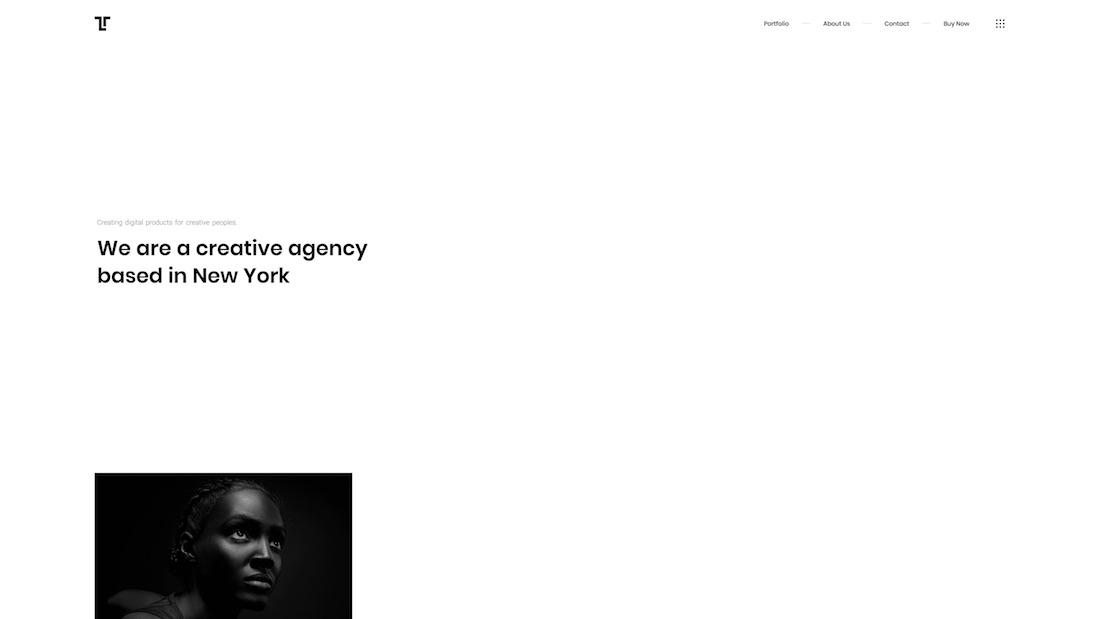 tetris graphic design website template