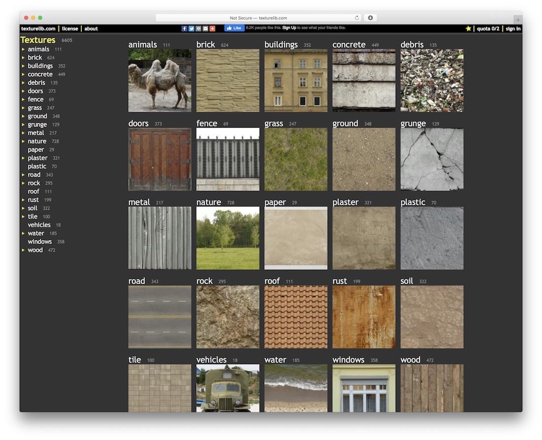 texturelib free resource