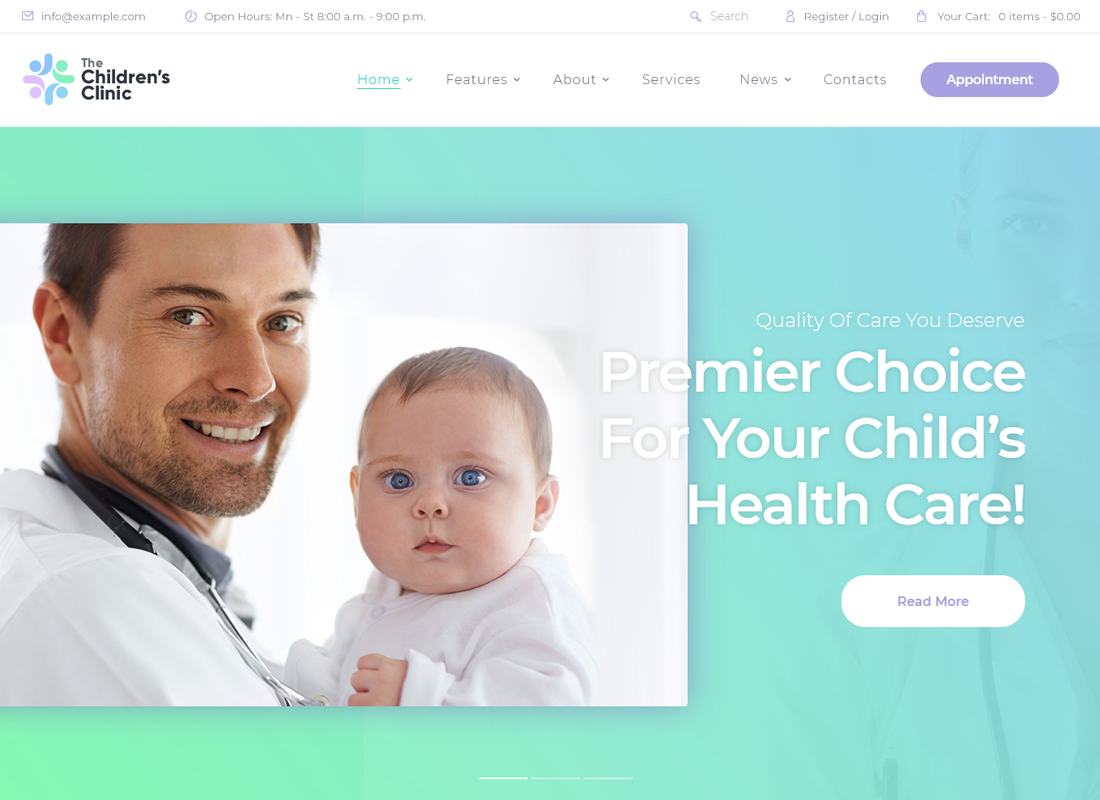 the-childrens-clinic-wordpress-theme