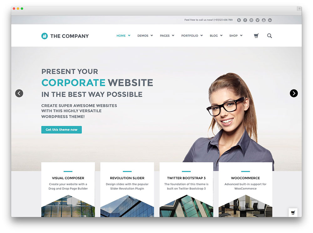 a business website pictures