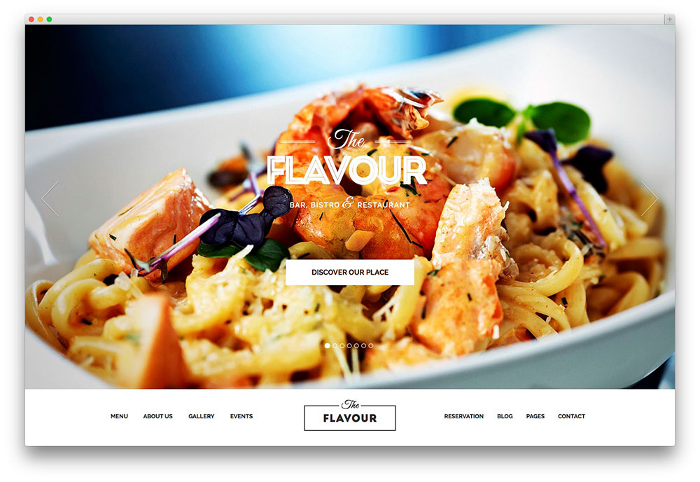 The Flavour food theme