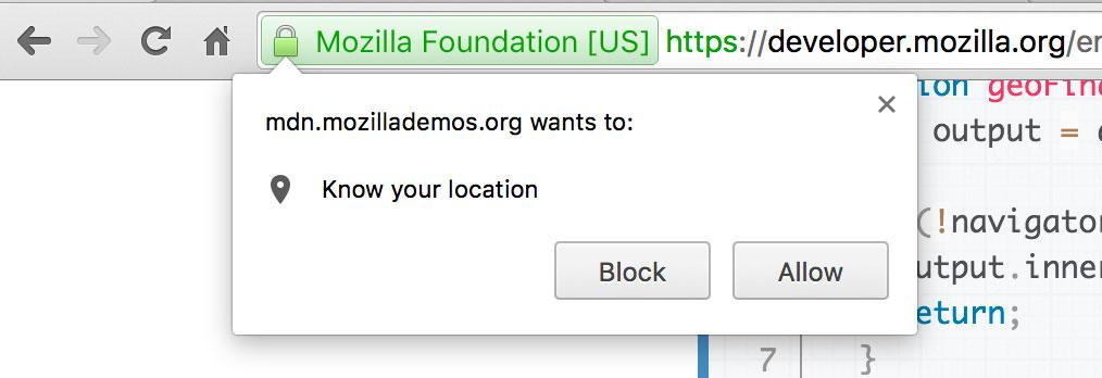 The Geolocation API