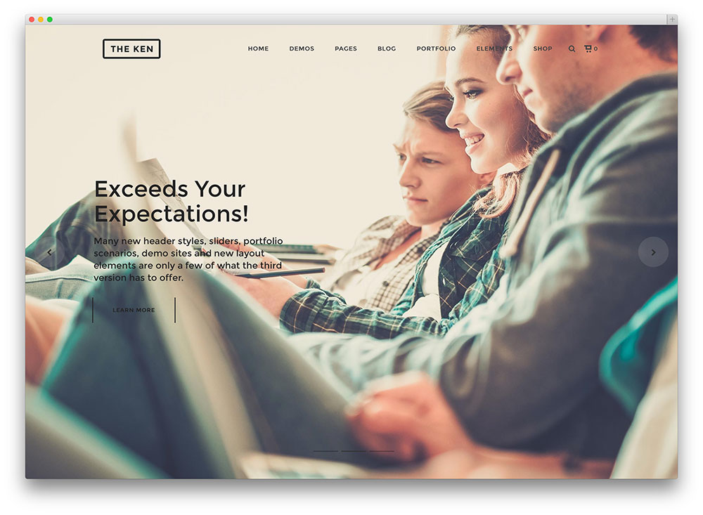 the ken - multipurpose theme