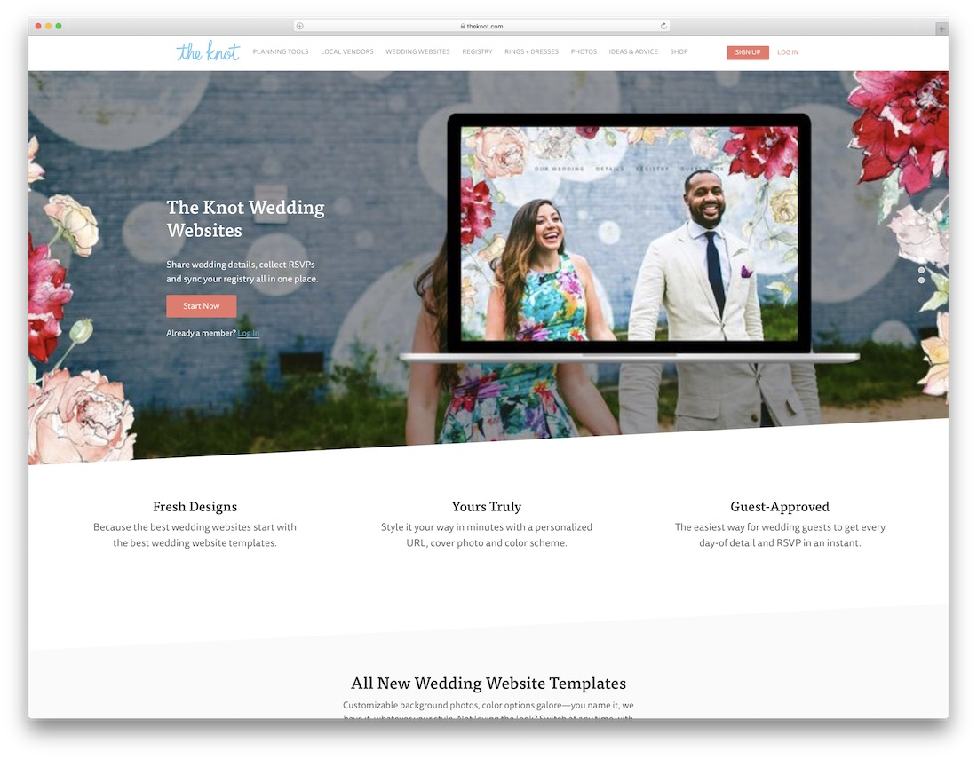 Wedding Rsvp Website.23 Best Wedding Website Builders For Gorgeous Sites 2019