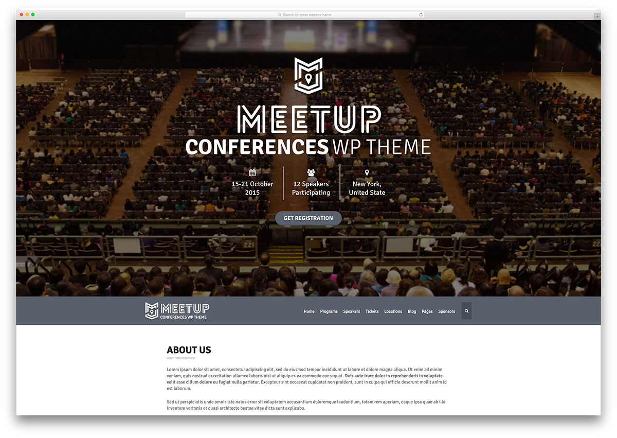 the-meetup-conference-wordpress-theme