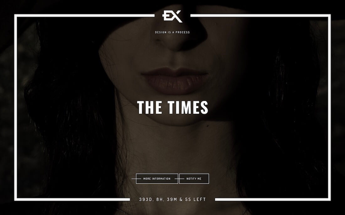 the times coming soon template