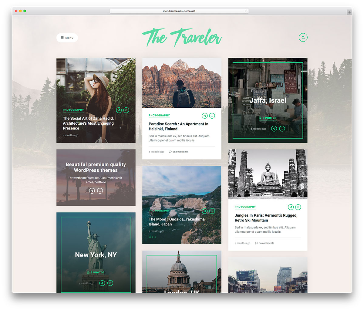 the-traveler-grid-style-travel-theme