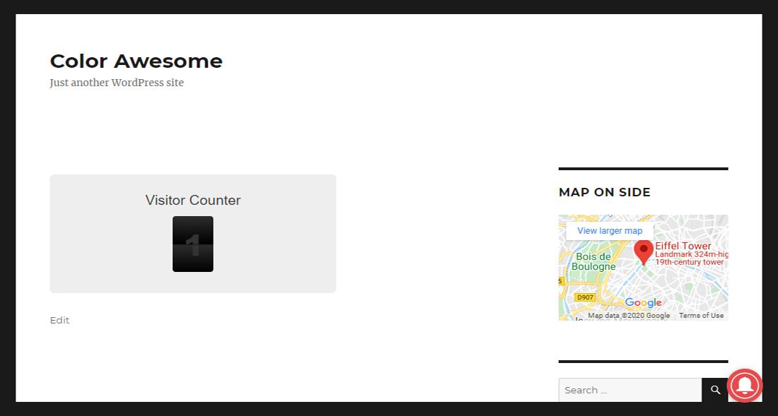 Simple WordPress Visitor Counter Plugin