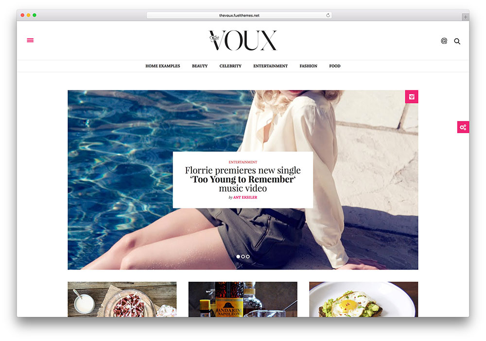 the voux masonry style magazine theme