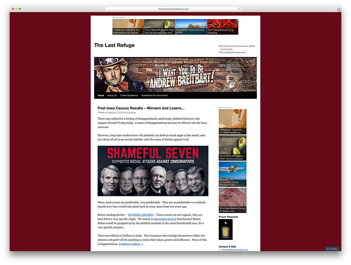 theconservativetreehouse-political-wordpress-blog