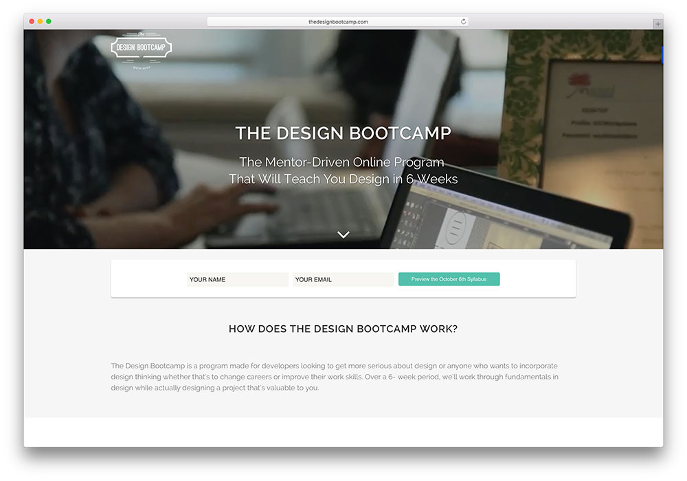 thedesignbootcamp-site-example-using-bridge-theme