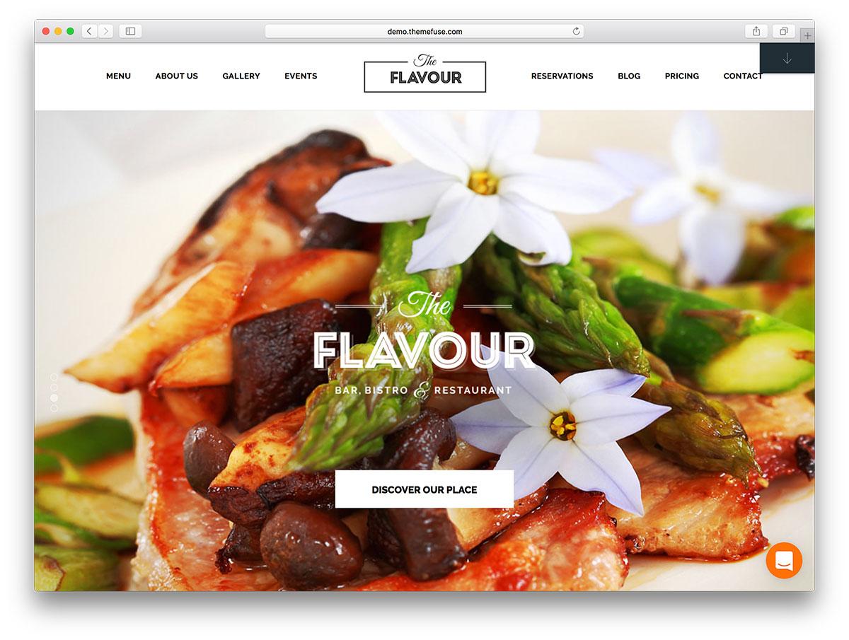 45 Best Wordpress Restaurant Themes 2019 Colorlib