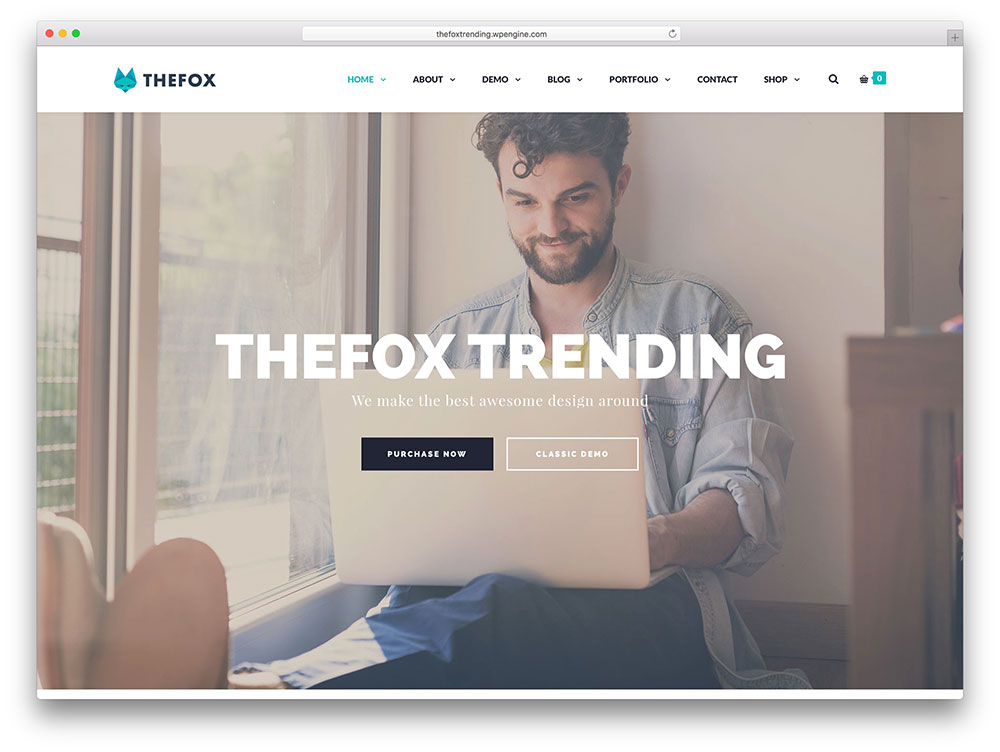 thefox - modern corporate theme