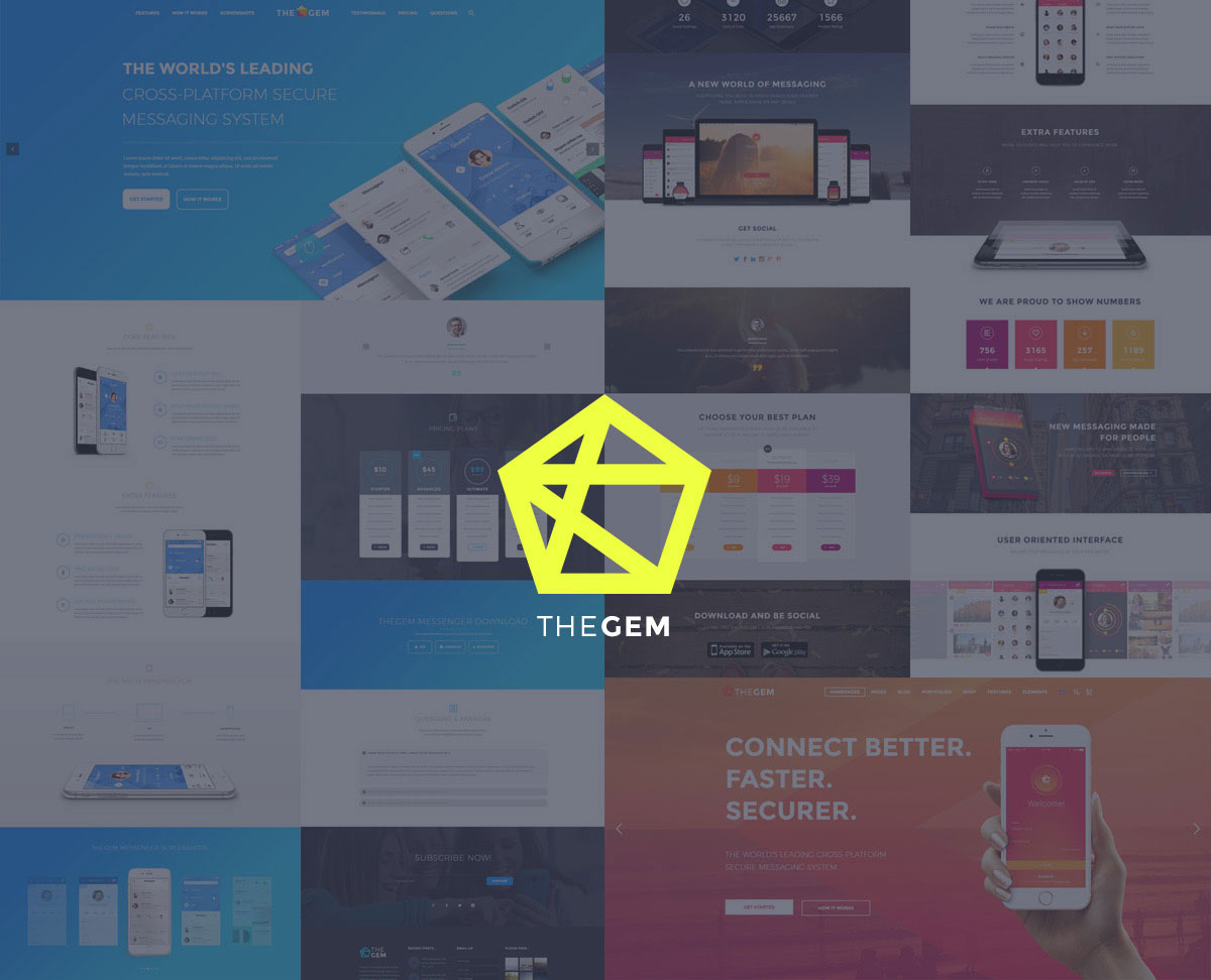 thegem-app-showcase-template