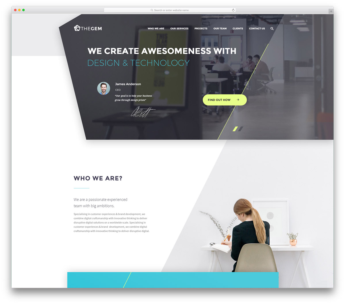 Top 40+ Creative Digital Agency WordPress Themes 2018 - Colorlib