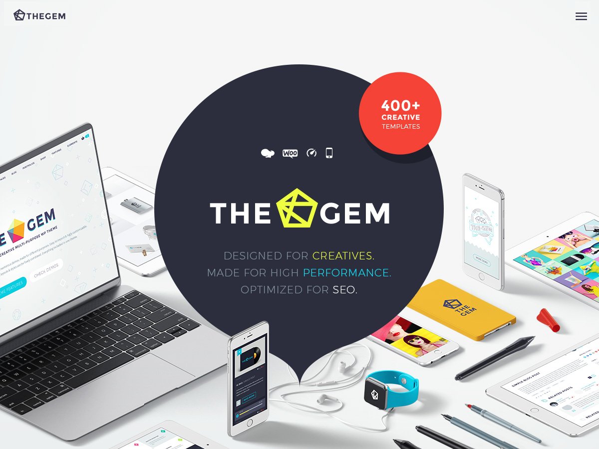 TheGem - fastest multipurpose WP theme
