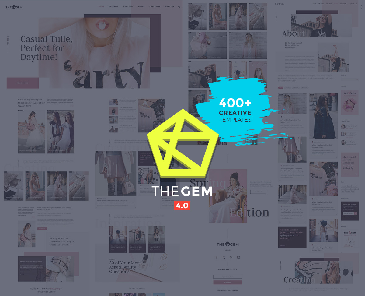 TheGem - glamour magazine WordPress theme