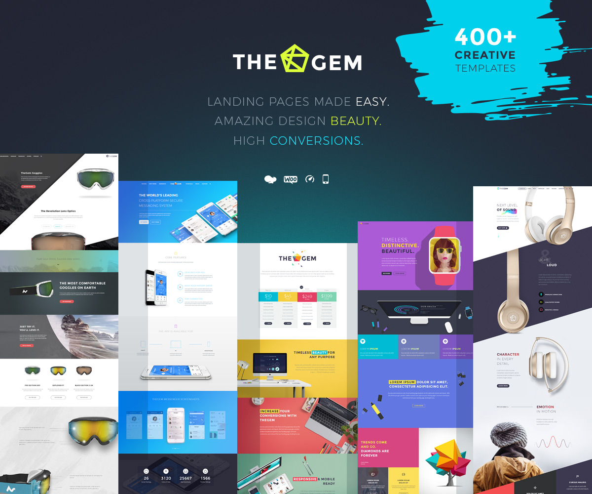 TheGem - popular landing page WordPress theme
