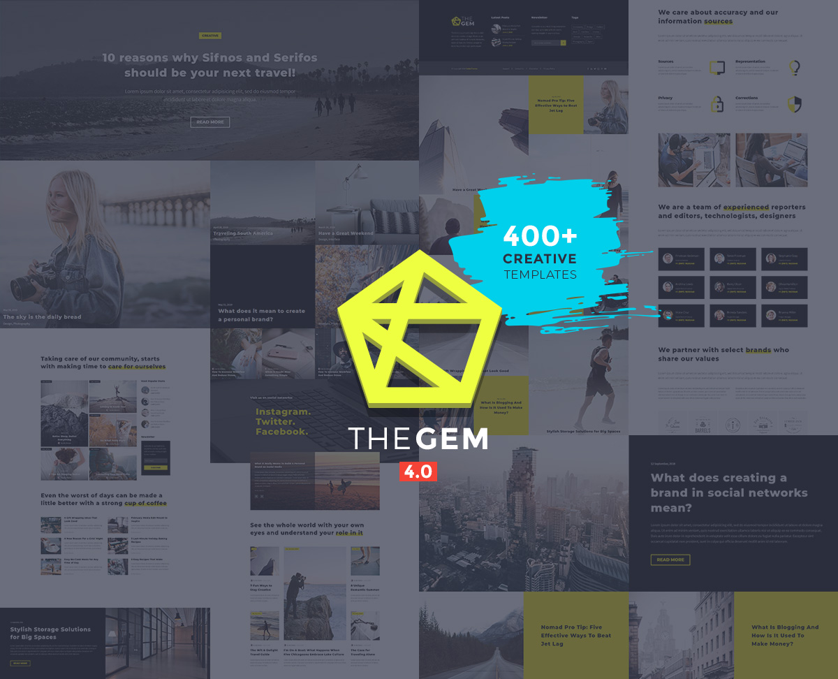 TheGem - photography blog design template